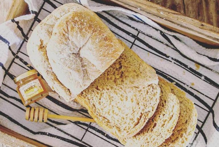 Freshly baked bread @ Stowaway Kangaroo Island, South Australia