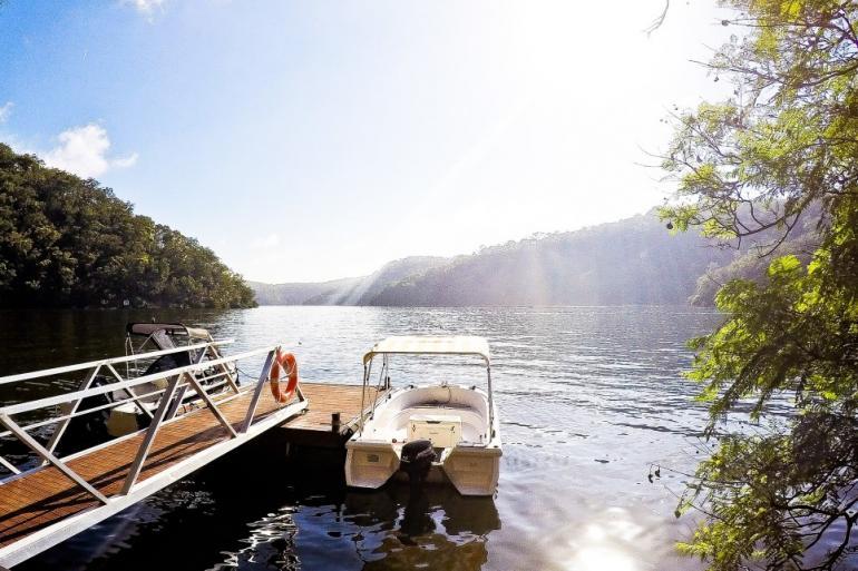 Calabash Bay Lodge, Berowra Waters, Hawkesbury River, NSW