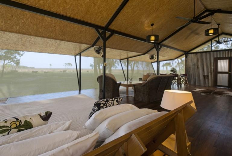 Kingfisher Suite, Bamurru Plains, Northern Territory