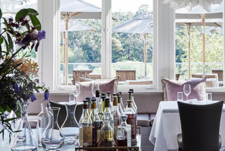 Restaurant, Lake House, Daylesford