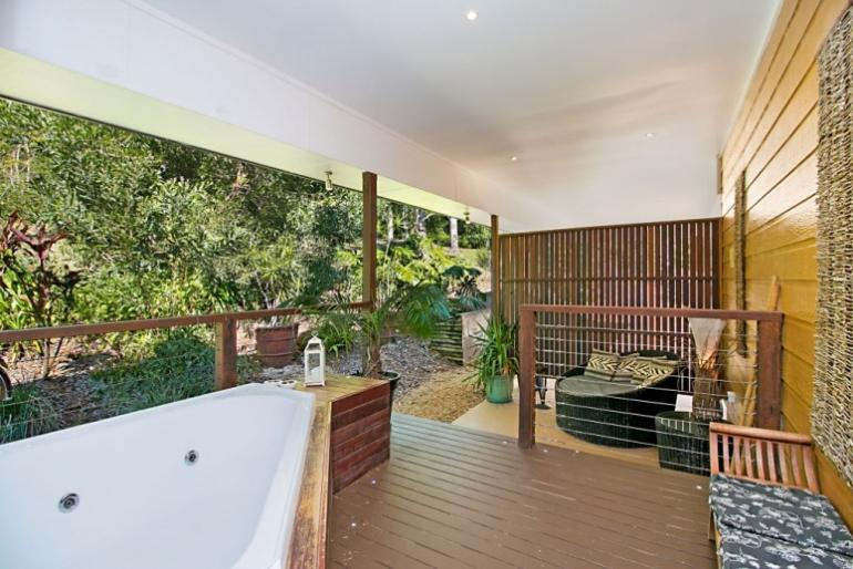 The Rainforest, Limpinwood Lodge, Tweed Valley, NSW