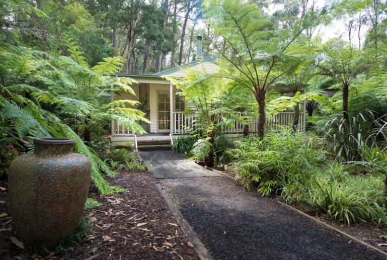 The Ferns Cottage, Myers Creek Cascades, Healesville, Yarra Valley