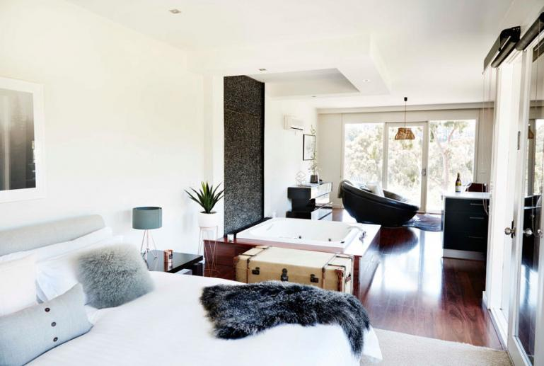 Villa One, Polperro Winery Villas, Mornington Peninsula, Victoria