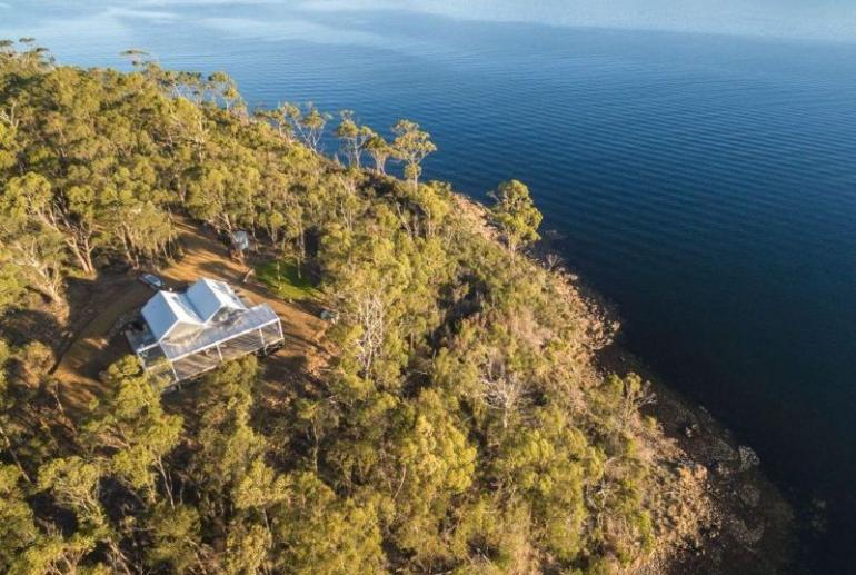 Boat House at The Peninsula, Dover, Tasmania