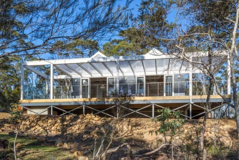 Boat House at The Peninsula, Dover, Tasmania