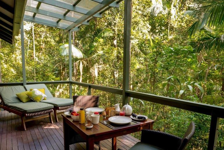Creekside Spa Cabin, Crystal Creek Rainforest Retreat, Tweed Valley, New South Wales