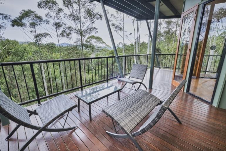 Range View Spa Chalet, EcOasis Resort, Tweed Hinterland, NSW